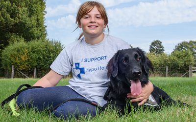 Axis Foundation helping hand to Hypo Hounds buys a specialist Diabetic Alert Assistance dog